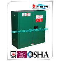 Quality Flame Proof  Hazardous Material Storage Containers 30 Gallon For Pesticide / Gas Cylinder for sale