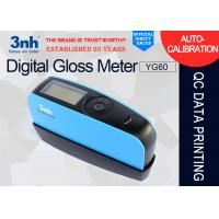 China 60 ° Digital Gloss Level Meter YG60 Rechargeable Floor Tile Gloss Machine USB Interface wholesale