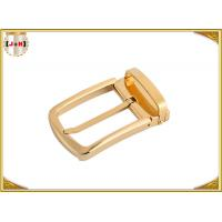 China Gold Plating Stainless Steel Buckles Pin Style Belt Buckle 35MM Inner Size wholesale