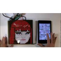 China SparkFun or Adafruit 32x32 RGB LED Panel Driver Tutorial 16 data signals connect + 5VDC refreshed to display an image wholesale