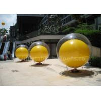 China Double Layer Inflatable Advertising Balloons 2m PVC Inflatable Ball In Ball wholesale