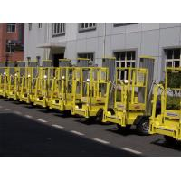 China 200kg Rated Load Hydraulic Elevating Platform 10 Meter Trailer Mounted Lift wholesale