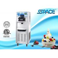 China SPACE Commercial Soft Ice Cream Machine With 3 Flavors CE ETL Approved on sale