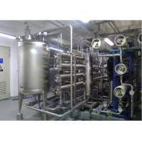 China URS Reverse omosis EDI Water Treatment with distribution loop Pasteurized disinfects 15m3/h wholesale