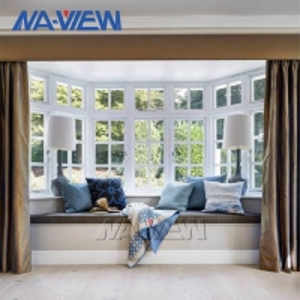 China OEM ODM Custom Energy Saving Aluminium Double Hung Windows With Transom wholesale