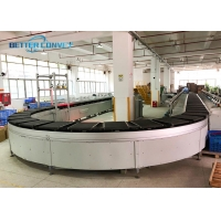 China Logistics Express Rollers Cross Belt Sorter By Drum Motor Conveyors wholesale