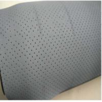 China White Neoprene Rubber Sheet , Breathable Oil Resistant Rubber wholesale