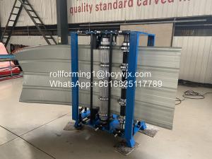 China PPGi GI 6m/Min PLC Manual Bending Machine wholesale