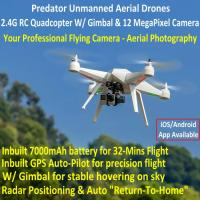 Quality Predator Unmanned Aerial Vehicle 7CH RC Quadcopter Drone Photography Fly Camera for sale
