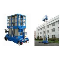 China Hydraulic Mobile Elevated Aluminum Work Platform With 12m Platform Height wholesale