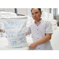 China CAS 7727-43-7 Barium Sulfate Paint , Barium Sulfate Coating Specific Gravity 4.2 wholesale