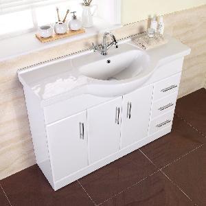 China MDF Bathroom Vanity / Cabinet / Furniture (MARCELLA 1200) wholesale