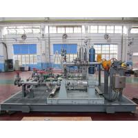 Quality LAr / LCO2 / LNG Boosting Vaporizer Skid Mounted Equipment 100-8000Nm3/h for sale