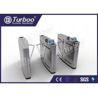 China Intelligent Flap Barrier Gate Turnstile Entry Systems For High Class Communities wholesale