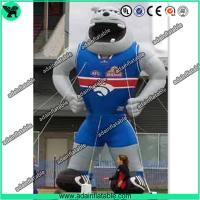 China Sports Advertising Inflatable Animal,Sports Event Inflatable Cartoon,Inflatable Bull Dog wholesale