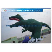 China Green Inflatable Cartoon Characters Decoration Large Inflatable Dinosaur Model wholesale