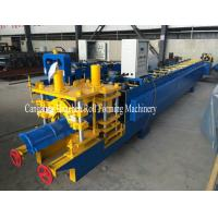 China Full Automatic Steel Roof Ridge Cap Roll Forming Machine Cr12 For PPGI wholesale