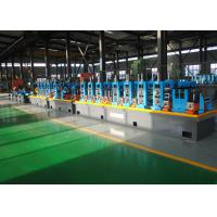 China Straight Seam ERW Pipe Mill , High Frequency Pipe Tube Mill Equipment wholesale