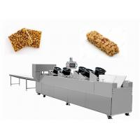 China Sesame Nut Crispy Molding Candy Cutting Machine / Puffed Cereal Bar Forming Machine wholesale