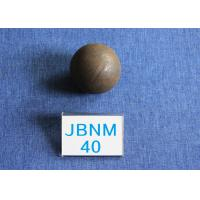 Quality High Surface Hardness 61 - 63hrc Grinding Media Balls B2 D40mm Even hardness for Cement Plants for sale