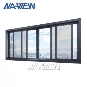 China Coating Anodized Aluminium Sliding Doors With Windows wholesale
