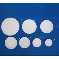 China 3W-24W led recessed and flat panel lights with dimmable IC driver wholesale