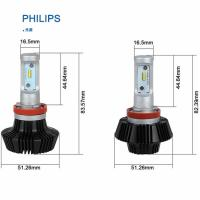 China High Power Car LED Light Bulbs 70w 8000lm 12v / 24v , H8 / H9 / H11 wholesale