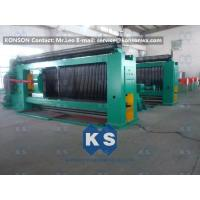 China Auto HighSpeed Stone Gabion Mesh Machine With Wire Tension Device wholesale