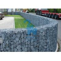 China Longer Lifetime Welded Steel Wire Gabion Mesh Cages For Construction Projects wholesale