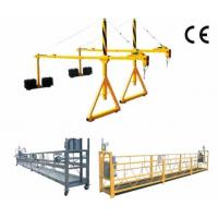 Buy cheap 800 Rated Load Rope Steel Suspended Window Cleaning Platform with Dipping Zinc product
