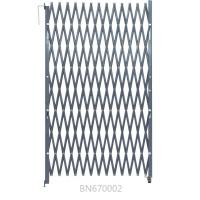 China Riveted Expandable Metal Security Gate , Folding Scissor Gates With Bracket 5.5' Open wholesale