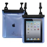 China Transparent Waterproof Pouch Bag TPU / PVC Materials 100% Sealed For Ipad wholesale