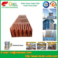 Buy cheap Convection Platen CFB Boiler Superheater In Thermal Power Plant from wholesalers