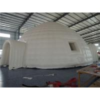 China White Mobile Inflatable Party Tent Personalized Logo For Medical Promotion Activity wholesale