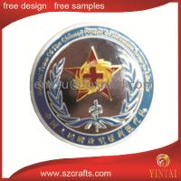 China top quality of the cross and knights commemorative coin wholesale
