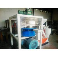China Dust Free Plastic Scrap Cutting Machine 410mm Motor With Wind Conveying wholesale