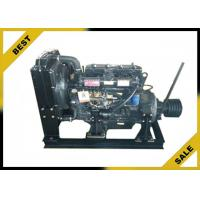 China 4 . 33 L Stationary Diesel Engine With Clutch ,  48 KW  Industrial Diesel Engines 2000 Rpm wholesale