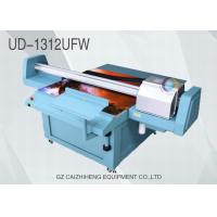 China Outdoor CMYK White Wide Format Flatbed Printer UV Ink Galaxy UD 1312UFW wholesale