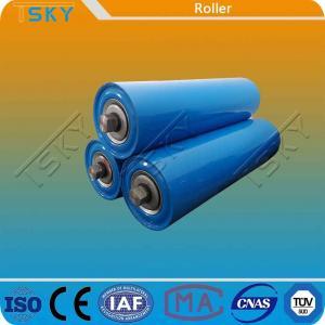 China Blue Customized Size DIN Conveyor Idler Roller wholesale