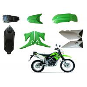 China Plastic Motorbike Waterproof Cover , KLX125 Motorcycle Fairing Kits OEM Service wholesale