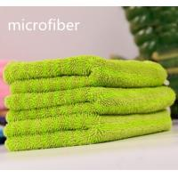 China Microfiber Twisted Coral Fleece Multifunction Car Cleaning Cloth 300gsm 30 * 40cm 450gsm wholesale