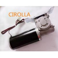 China Round And Black DC Power Sliding Door Motor Light Weight And Low Noise wholesale
