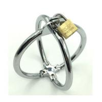 China Alloy Delay Lock Sex Vibrating Cock Ring Metal Stainless Steel 2 Style wholesale