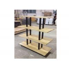 China Many Layers Wood Shelf Retail Gondola Shelving , Middle Convenience Store Shelving wholesale