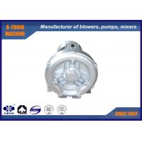 China Aluminium Side Channel Blower for fish pond oxygen supplier , portable small air fan wholesale