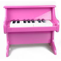 China Colorful 185 Key Toy Wooden Piano Upright Desk / Table Top For Kids wholesale
