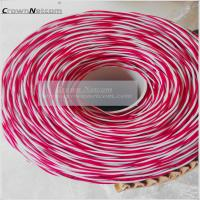 China Telephone Jumper Wires 0.5mm PVC Jacket Blue/Yellow Red/White Bare Copper/ Tinned Copper category 3 Jumper cables on sale
