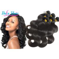 China Unprocessed Body Wave Grade 6A Virgin Hair Extensions With Full Cuticles wholesale