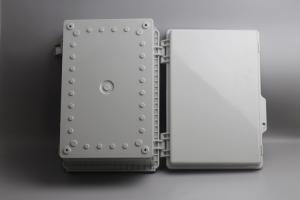 China IOT Sensors Latching Lid Hinged Plastic Enclosures Watertight wholesale