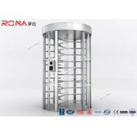 China RFID Flexible Pedestrian Turnstile Gate , High Security Turnstile Heavy Duty Steel Frame wholesale